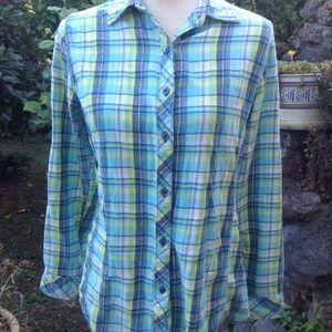 Great Northwest Indigo Flannel